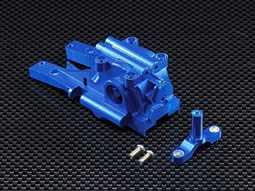 Blue Aluminum Gear - Traxxas 1/16 Mini E-Revo Upgrade Parts Aluminum Front Gear Box - 3 Pcs Set Blue