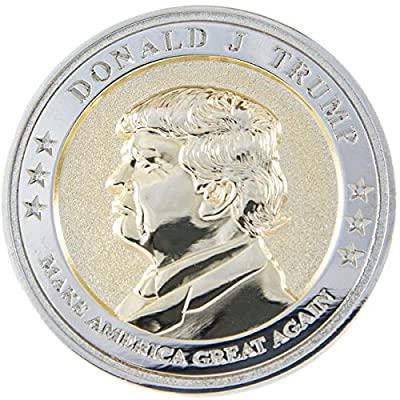 President Trump Inaugural Commemorative Coin - Limited Edition - Coin Collector's Gift Item - 45th President of the United States - Donald J. Trump Presidential Inauguration 2017