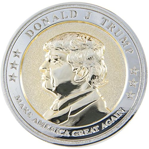 President Trump Inauguration Commemorative Coin - Limited Edition - Coin Collector's Item - 45th President of the United States - Presidential Inauguration 2017