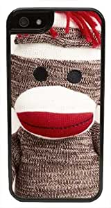 CellPowerCasesTM Sock Monkey iPhone 5 Case - Fits iPhone 5 & iPhone 5S (White Case V2)