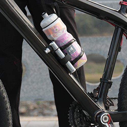 Topker Pompe à vélo à main Poussez Balles Jouets gonflables pneus Pompe Mountain Bikes Air Pump gonfleur Pneu Moto pour WheelUp