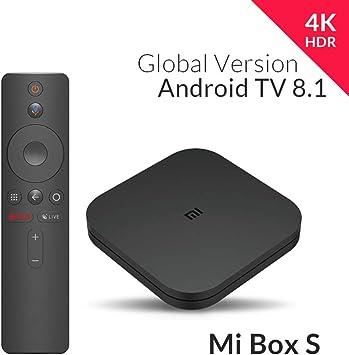 Xiaomi MiJia Mi Box S, Versión de la UE, Reproductor de Medios 4K ...