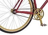 Captain Marvel Single-Speed Fixie Style Bike by