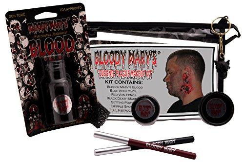 Bobbie Weiner Bubonic Plague Professional Character Makeup Kit ()
