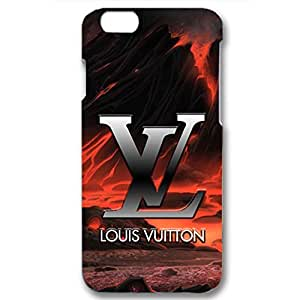 Tempt Pattern Design Louis Fashion Vuitton Phone Case Back Hard Protector for Iphone 6 / 6s ( 4.7 Inch )