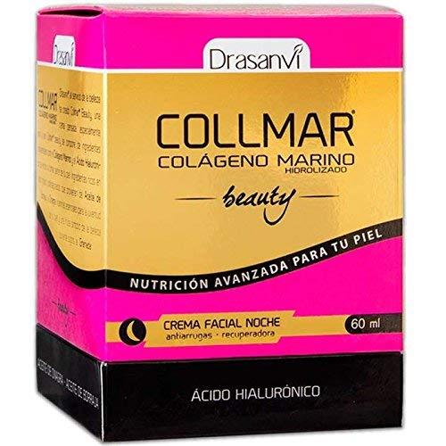 Collmar Beauty Crema Facial Antiarrugas y Reparador Celular, 60ml de Drasanvi - Colágeno Marino de Acción Día y Noche que Actúa contra los Signos de ...