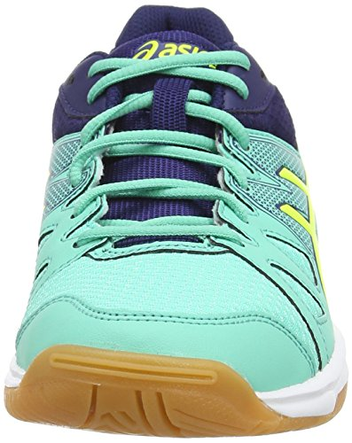 Indigo Blu Flash Squash Donna da Scarpe Upcourt Mint Asics Aqua Yellow 7007 Gel qCPwpZa
