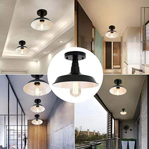 Amazon.com: Juego de 3 lámparas de techo vintage de metal ...