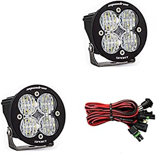 product image for Baja Designs Squadron-R Sport Pair ATV LED Light Wide Cornering Pattern