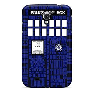 Forever Collectibles Blue Tardis Hard Snap-on Galaxy S4 Case