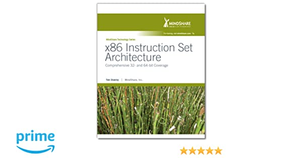 X86 Instruction Set Architecture Comprehensive 32 And 64 Bit