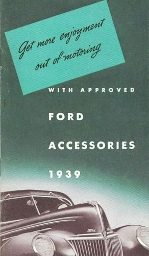 Factory Deflector (1939 FORD CAR, & TRUCK FACTORY CUSTOM FEATURE ACCESSORIES BROCHURE - CATALOG)