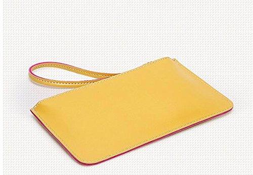 Rosa Atmosférico Bolso Mano Meaeo Simple Bolsa Confort Yellow Bolsa Cena Pequeña De Nuevo Dama 7wqPZR