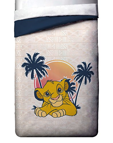 Disney Lion King No Worries Twin/Full relatively easy to fix Comforter