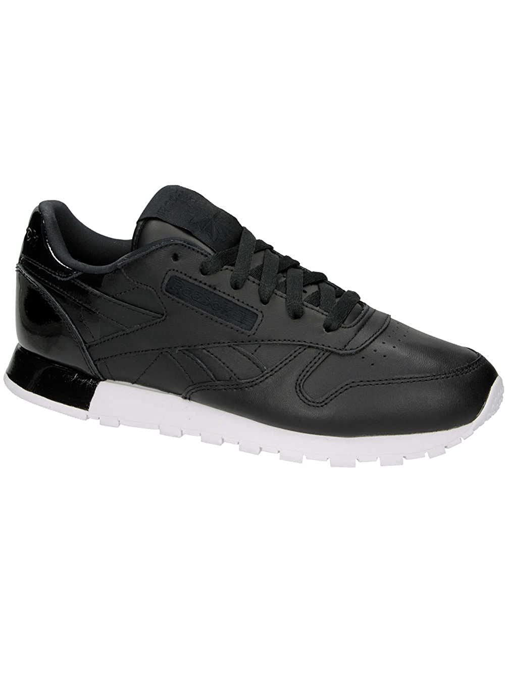 37c0bb2a1ffc3 Reebok Classic Leather Matte Shine Black  Amazon.co.uk  Shoes   Bags