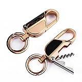 4 in 1 Keychain Flashlight, Jobon Zinc Alloy Key Chain...