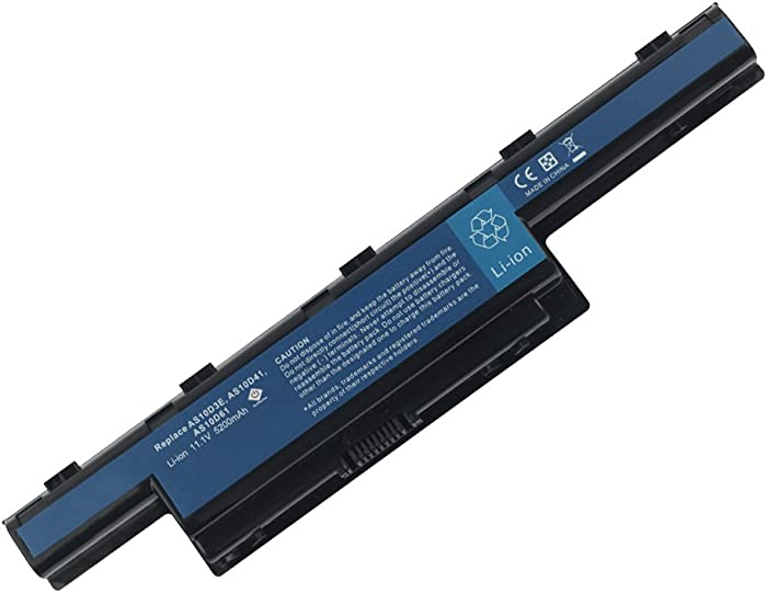 New Laptop Battery for Acer AS10D31 AS10D51, Acer Aspire 5250 5251 5253 5251 5336 5349 5551 5552 5560 5733 5733Z 5750 5750G 5755 5742 5742G 7741Z TravelMate 5740 5735 5735Z 5740G / Gateway NV55C NV50A