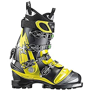 SCARPA TX Comp Telemark Boot Men's Saffron/Anthracite, 29.5