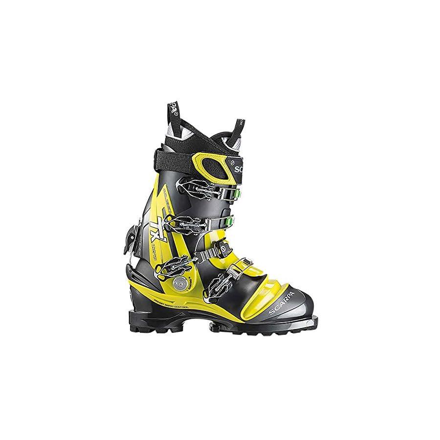 Scarpa TX Comp Telemark Boot Saffron/Anthracite, 29.5