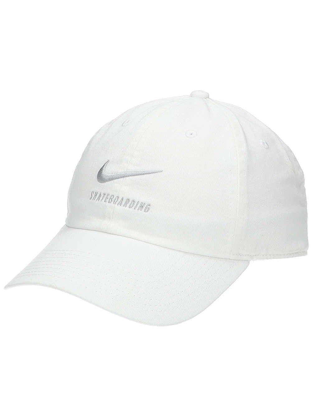 9db7710a180 Amazon.com  Nike H86 SB Skateboarding Adjustable Hat Black White  828635-010  Sports   Outdoors