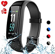 Mgaolo Fitness Tracker,Smart Watch Montre Intelligente Activity Tracker Health Bracelet Waterproof Wristband w