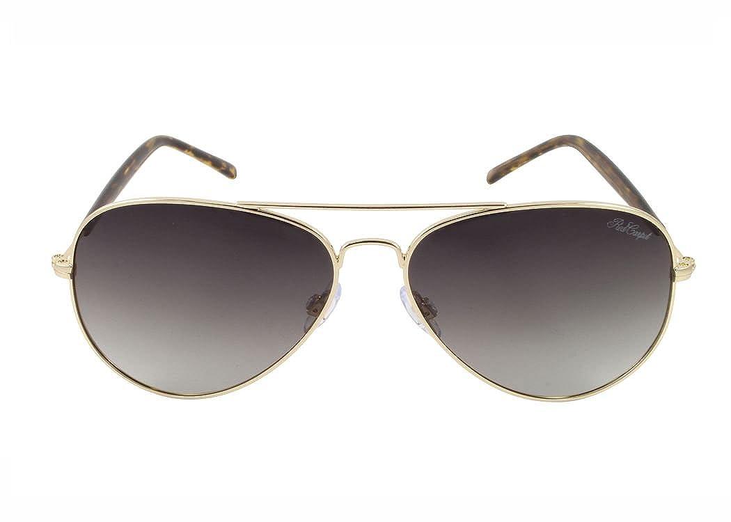 0ae87b11b0c Amazon.com  Red Carpet Women s Champagne Polarized Aviator Sunglasses