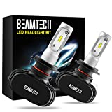 BEAMTECH H7 LED Headlight Bulb,CSP Chips 50W 8000 Lumens 6500K Xenon White Extremely Bright Conversion Kit of 2