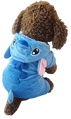 Z-YQL Disney Stitch Cartoon Pet Custume Coat, Pet