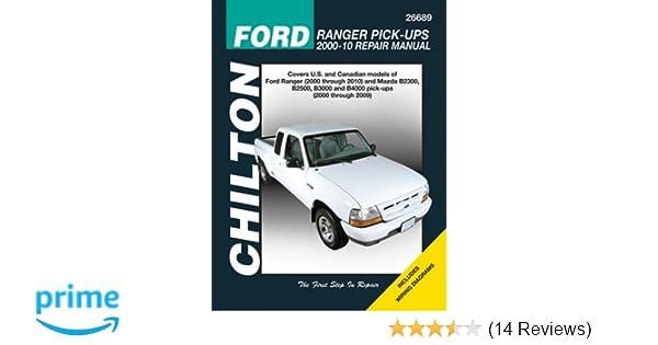 ford ranger haynes manual download