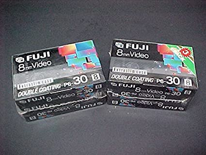 Fuji P6-30 8mm Video Tape