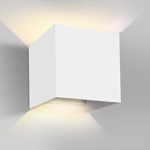 Ghb 7w led wall light up down wall lamp outdoor indoor ip65 warm ghb 7w led wall light up down wall lamp outdoor indoor ip65 warm white adjustable beam mozeypictures Image collections
