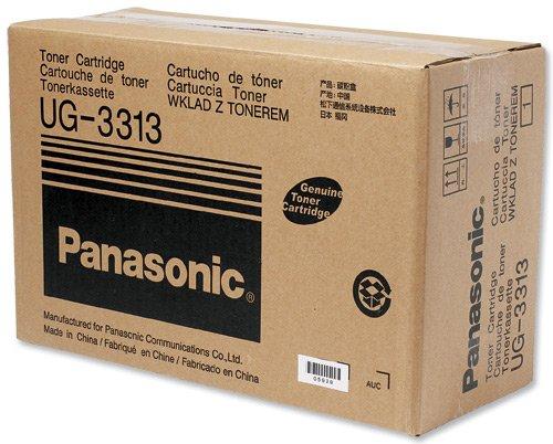 Panasonic Fax Toner (10,000 Page Yield, Black) (Panafax Fax Panasonic 800 Dx)