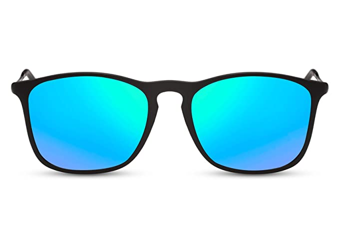 Cheapass Gafas de Sol Azules y Verdes Rectangulares ...