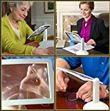 Large Bright LED Page Magnifier with Instantly