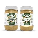 PB&Me Organic Powdered Peanut Butter (No Sugar Added), 2 Count