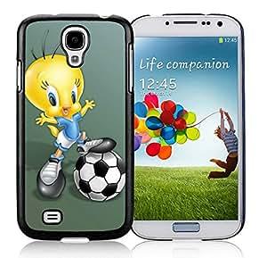 cartoon tweety bird Black Samsung Galaxy S4 Phone Case likable and Durable Design