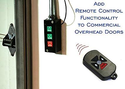 RF Remote Control System for Commercial Overhead Doors PB3-REMOTE  sc 1 st  Amazon.com & Amazon.com: RF Remote Control System for Commercial Overhead Doors ...