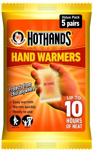Hot Hands Hand Warmer Value Pack, 5 x Pack of 2(10 pairs) by HotHands