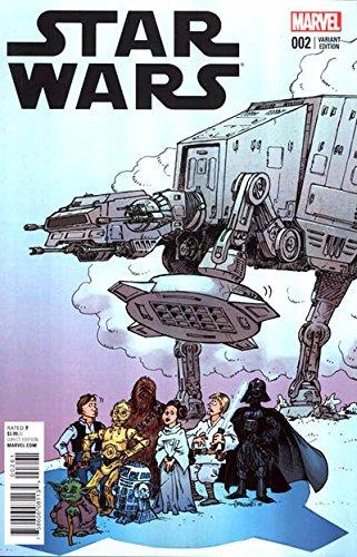 Star Wars #2 Sergio Aragones Variant - Marvel Comics 2015 - 9.8 Graded