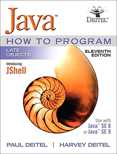 Java How To Program, Late Objects (11th Edition) by Pearson