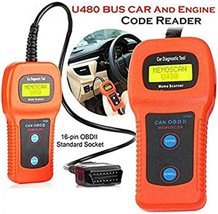 U480 CAN BUS AUTO OBD2 EOBD US Car Engine Code Reader Diagnostic Scanner Tool