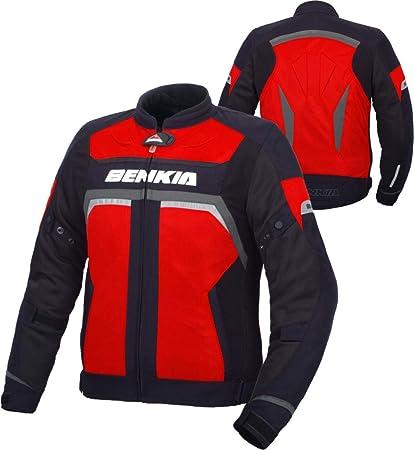 BENKIA HDF-JS35 Chaqueta De Moto Hombre Primavera Y Verano ...