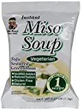 Miyasaka Freeze Dried Vegetarian Miso Soup, 0.27-Ounce (Pack of 12)