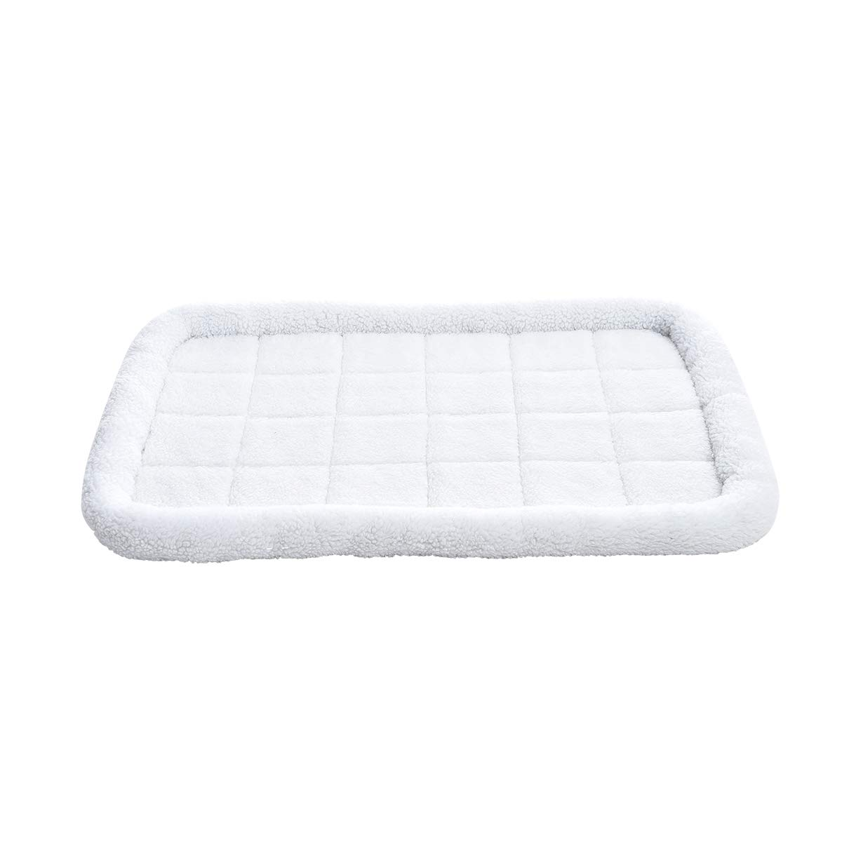 AmazonBasics Padded Pet Bolster Crate Bed Pad - 40 x 26 Inches