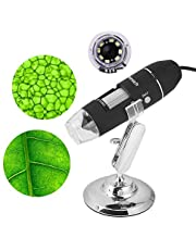 1000x microscopio usb digitale endoscopio video camera 8LED per PC smartphone Android