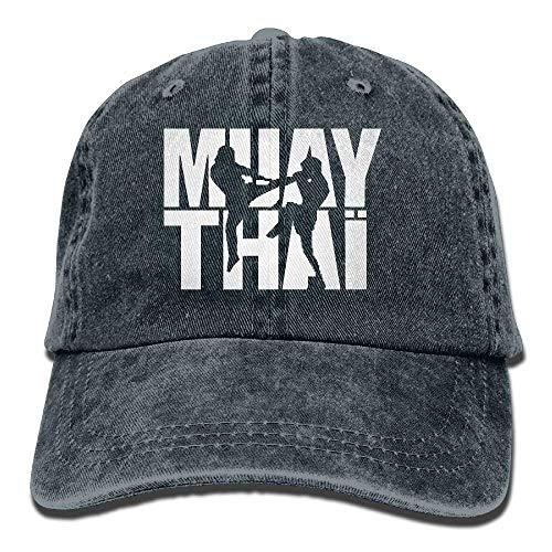 Flag Caps Thai Navy Adjustable Hats Box Hat Denim Men Muay Baseball x47q8YpY