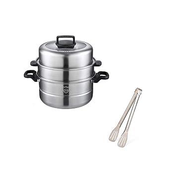 Recipiente de vapor, cocina casera. Conjunto de vaporizador ...