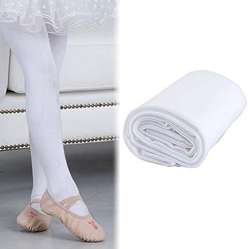 d85659bea6715 Kids Ballet Tights Child Girls 120 Denier Tap Modern Dance Stockings  Dancewear White
