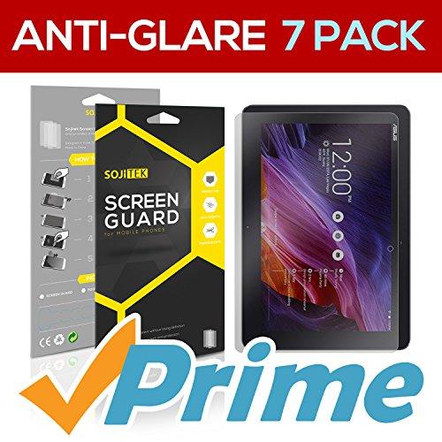 SOJITEK ASUS Transformer Pad TF103C Premium Anti-Glare Anti-fingerprint Matte Screen Protector [7-Pack] - Lifetime Replacements Warranty + Retail Packaging