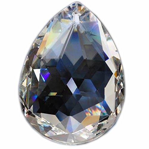 hierkryst 50mm Lamp Chandelier Crystal Pendants Pack of 5